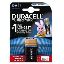 Duracell Turbo Max 9V bateria alkaliczna 1szt