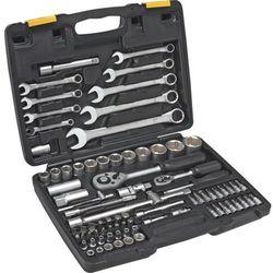 Zestaw kluczy nasadowych TOPEX 1/4 i 1/2 cala 38D686 (82 elementy) + DARMOWY TRANSPORT!