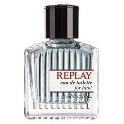 Replay For Him Woda toaletowa 75ml + Próbka perfum Gratis!