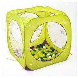 Namiot dla dzieci Ludi z piłeczkami Zielony