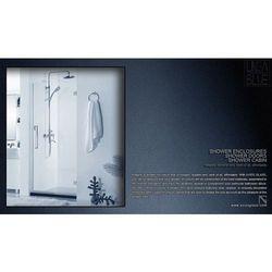 Drzwi prysznicowe AXISS GLASS AN6211WD 700mm L