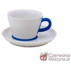 Filiżanka do cappuccino ze spodkiem Kahla touch! FIVE SENSES blue 250 ml
