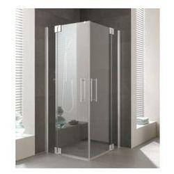 Drzwi Kermi Pasa XP 100x200cm wahadłowe z polem stałym prawe PXEPR100201PK