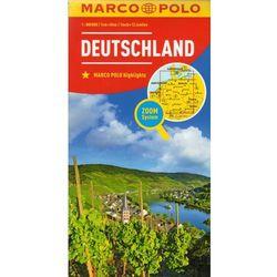 Marco Polo Mapa Samochodowa Niemcy 1:800 000 Zoom