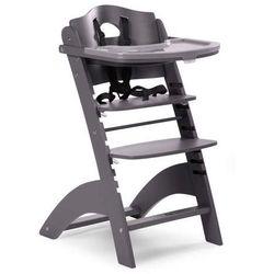 Regulowane krzesło do karmienia z tacką Lambda 2 antracyt