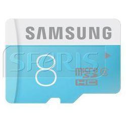Karta pamięci Samsung Micro SD z adapterem Standard Up to 24MB/S 8GB - MB-MS08DA/EU