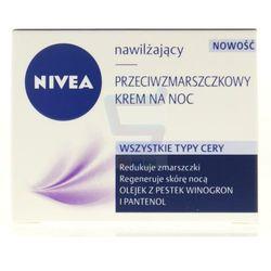Nivea Visage Nawilżajacy przeciwzmarszczkowy krem do twarzy na noc 50 ml