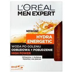 L'OREAL Men Expert Hydra Energetic kosmetyki męskie - woda po goleniu High Power 100ml