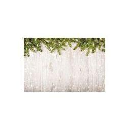 Foto naklejka samoprzylepna 100 x 100 cm - Christmas tła z gałęzi świerkowych