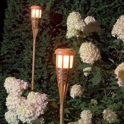 Luxform Lampa ogrodowa RGB LED - pochodnia 4 szt. Darmowa wysyłka i zwroty
