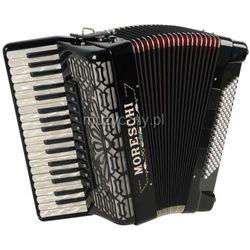 Moreschi ST 496 Deluxe 37/4/11 96/4/4 Piccolo akordeon (czarny) Płacąc przelewem przesyłka gratis!