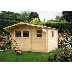 PROMOCYJNY drewniany domek ogrodowy Powojnik