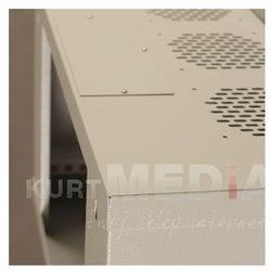 Szafa NetRack wisząca 19, 6U/240 mm popiel, drzwi przeszklone (019-060-240-011) Darmowy odbiór w 19 miastach!