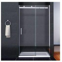 TESSA Drzwi przesuwne 130x190, szkło transparentne powłoka Easy Clean