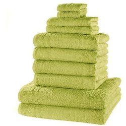 Komplet ręczników (10 części) bonprix soczysta zieleń