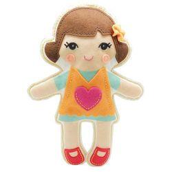 Filcowe Robótki, zestaw kreatywny lalka Ania