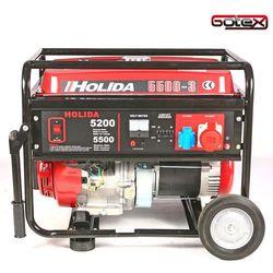 Generator prądu HOLIDA WM5500-3 trójfazowy 5,5 kW EL. zapłon