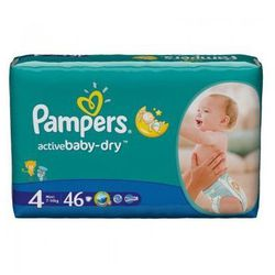 Pampers, Active Baby-Dry Maxi, Value Pack - 46 szt.