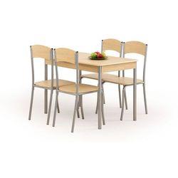 Zestaw HALMAR LONGIN Stół + 4 krzesła