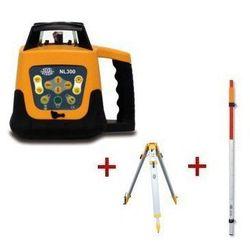 Niwelator laserowy Nivel System NL300 + statyw + łata