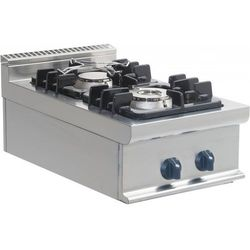 Kuchnia gazowa | 2 palniki | 400x700x275mm