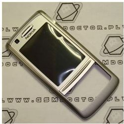 Obudowa Nokia 6280 przednia srebrna