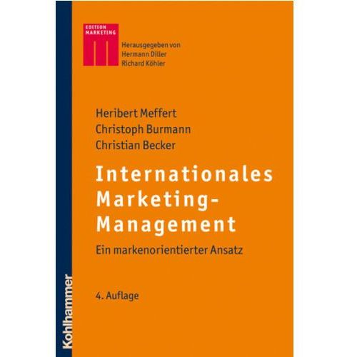 Internationales Marketing-Management Meffert, Heribert