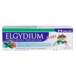 ELGYDIUM Kids pasta do mycia zębów mlecznych miętowo-truskawkowy 50ml