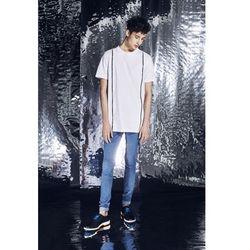 Spodnie rurki Blue jeans