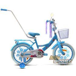 Rower dziecięcy 16 Lilly błękitny - Błękitny