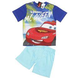 Piżama na lato Auta - Cars. Niebieski