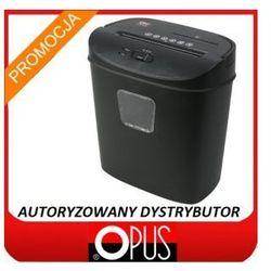 Niszczarka Opus CS 2210 CD, ścinek 4x45 cross-cut, Tania wysyłka lub odbiór Łódź, Autoryzowany dystrybutor, P-3, kosz 17 L