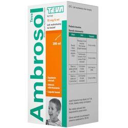 Ambrosol Pliva, 15 mg/5 ml, syrop, 200 ml