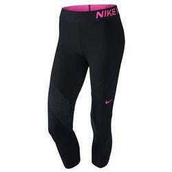 Spodnie Nike Pro Hypercool Capri czarne 725614-011