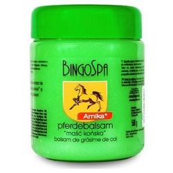 BingoSpa Maść końska do masażu Arnika 500g BingoSpa (-19%)
