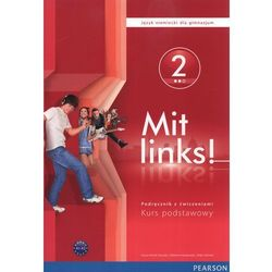 Mit Links! 2 podręcznik z ćwiczeniami z płytą CD (opr. miękka)