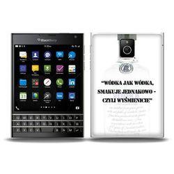 Fantastic Case - Blackberry Passport - etui na telefon - wódka