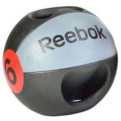 PIŁKA LEKARSKA Z UCHWYTAMI REEBOK 8KG RSB-10128 :: POLECANY SPRZEDAWCA :: TEL 228878373 :: www.aerobik.fitness