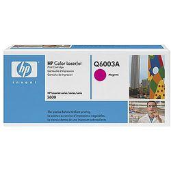 Toner HP Color LaserJet 2600 Q6003A