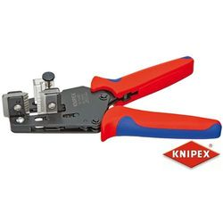 KNIPEX Precyzyjne szczypce do ściągania izolacji z nożami kształtowymi, dwukomponentowe (12 12 02)