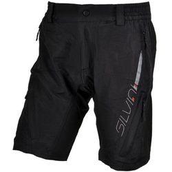 Męskie MTB rowerowe spodnie Silvini MAGO MP858 black