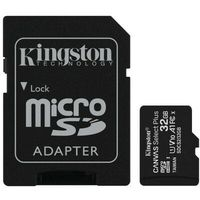 Kingston karta pamięci microSDHC Canvas Select Plus (32GB | class 10 | UHS-I | 100 MB/s) + adapter