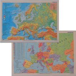 Europa mapa ścienna fizyczno - polityczna 1:11 000 000 Meridian