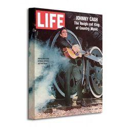 Time Life (Johnny Cash - Cover 1969) - Obraz na płótnie
