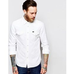 Lee Western Denim Shirt Slim Fit Ecru - White