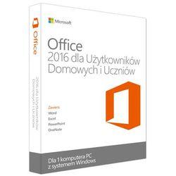 Microsoft Office 2016 dla Użytkowników Domowych i Uczniów, 1stan - produkt w magazynie - szybka wysyłka!