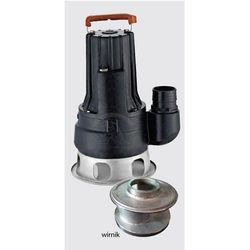 Pompa zatapialna BIG 1500 230-240V do wody brudnej i ścieków z podwójnym wirnikiem rabat 15%