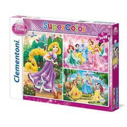 Clementoni, Księżniczki Disneya, 3x48 elementów