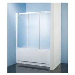 SANPLAST kabina nawannowa Classic 170 wnękowa szkło CR (parawan) DTr-c-W-170 600-013-2451-01-370