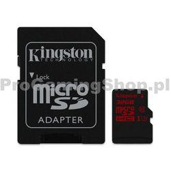 Kingston 32GB SDHC Adapter SD Micro U3-prędkość do 90 MB/s